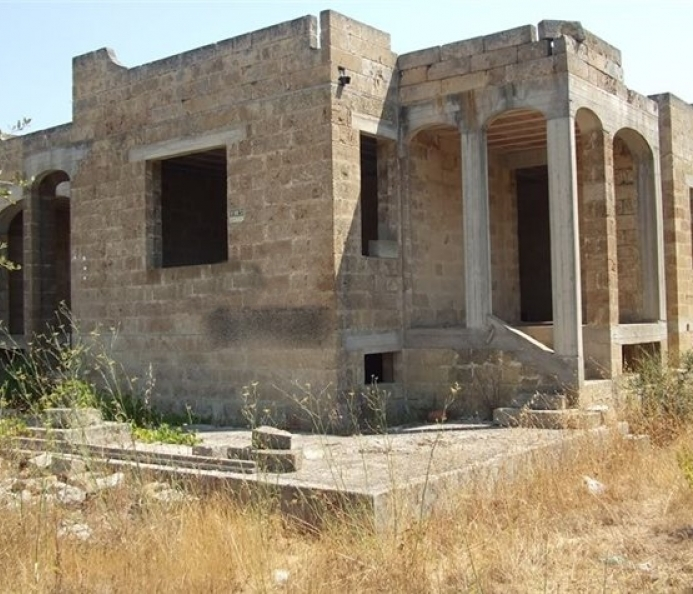 Villa in the Rough State to Be Completed